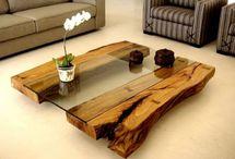 Lakberendezés- fából bútor és dekor kreatív