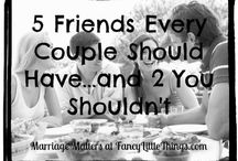 marriage + friendships