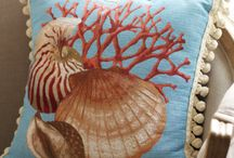 155).-  Tapestry pillow / Tapestry pillow / by Edwige Gendron