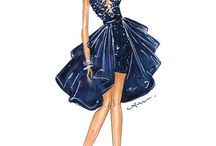 Fashion illustrations Zuhair Murad