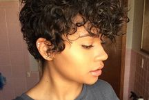 Curly cuts / Hair styles for curly haired people.