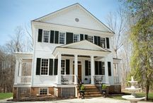 Our Cottages / Antique cottages located at Stevenson Ridge, a Bed & Breakfast in Spotsylvania, VA. / by Stevenson Ridge