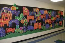 art Lessons: mural / by Alice Campbell