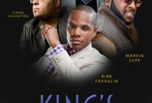 The Kings Men Concert Tour / Four of gospels most renowned men of God Kirk Franklin, Isreal Houghton, Donnie McKlukin and Marvin Sapp are going on tour this fall.   The tour will hit 15 U.S. cities beginning on Sunday, September 16th at Comerica Theatre in Phoenix, AZ, and culminating in Brooklyn, NY, at Barclays Center on Sunday, October 14th. For tickets and tour dates go to http://robertsoneplaza.weebly.com/featuresevents.html and click on The Kings Men picture. / by John Robertson
