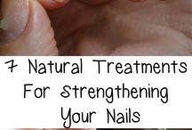 Strengthening nails