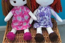 Rag dolls / Rag doll inspiration!  Includes Wardolf dolls . . . / by Linda Sikkema