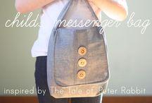 Sew - Kids Bags / by Rachel Clark