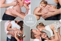 Fényképek a terhességről