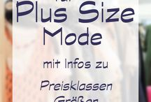 PLUS SIZE OUTFITS & MEHR...