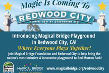 Announcing Magical Bridge Redwood City / We can't wait to bring some magic to Redwood City, Ca.'s Red Morton Park!