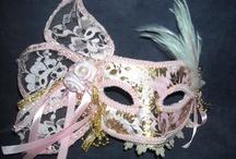 masks for fun / home made venetian masks