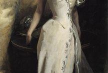 дама с картины французских импрессионистов