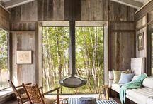 Деревянный дом (интерьер)