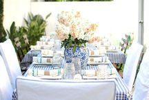 gingham wedding