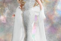 Barbie a barvy jedněch šatů