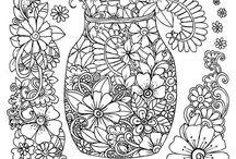 disegni da colorare adulti