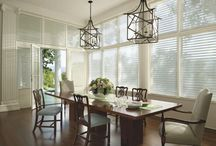 ENERGY SMART BLINDS ~ HUNTER DOUGLAS /  Warm up a room with a cool purchase. Save energy and add beauty too!