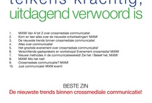 In the box / 10 Zinnen + Beste zin MiXM! Event