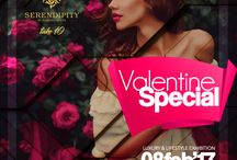 """ValentineSpecial / """"Shop in the name of Love"""" this Valentine. #BookingsOpen #ValentineSpecial #Serendipity #LifestyleExhibition #Take10"""