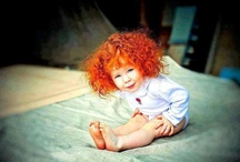 redhead Little girls