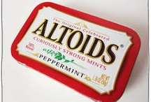 """Altoid Kits / Altoids have been freshening bad breath since the turn of the 19th century. But while they are touted as """"Curiously Strong Mints,"""" perhaps the real curiosity is not the allure of the mints themselves, but the popularity of turning the tin in which they're packaged into all sorts of truly handy, and just plain fun, creations. / by Deborah Haseltine"""