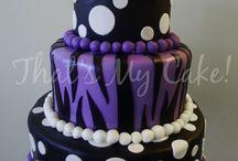 60 cake / by Elvina Bier