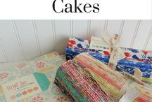 Layer Cake Quilts / Quilts made with Layer Cake squares