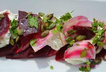 May - Pink / En mai, c'est le mois des fleurs et mois où l'on met du rose dans son assiette
