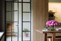 glazen wand/deur