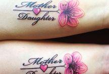 Tattoos moeder dochter