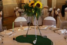 Golf & Yoga wedding
