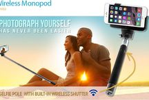 Go Summer Accessories / everything you need from selfie sticks to travel chargers and usb cables