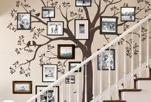 Wall decals trees