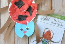 The Very Busy Spider-Eric Carle / by Pam Phillips