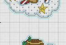 WGC - Christmas / Wayuu, Graphghans, Cross Stitch pattern