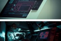 graphics in movies // hud //  interfaces // typo