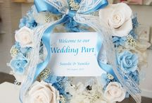 Weddings Welcome board