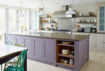 Kitchen Islands / A range of kitchen island designs and ideas for your home