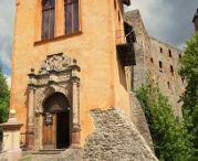 Zamek Grodno w Zagórzu Śląskim / Malowniczo położony zamek w Górach Sowich. Warto zwiedzić :) #zamekGrodno #poland #kynsburg