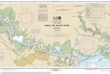 Mapa de las Rías
