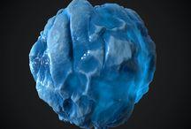 Stylized texture ice
