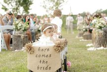 Ideas on how to incorporate babies in weddings