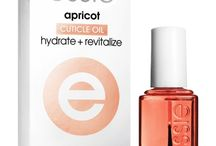 Different cuticle oils and creams