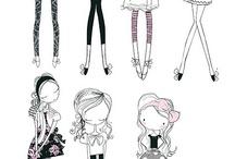 art drawing stylized, cartoon anime / by Jane Hastings