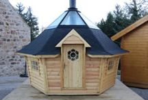 Barbecue Huts / Just some of the barbecue hut products that we can provide.