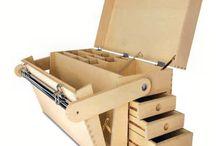 ящик для инструментов из фанеры подробно