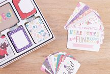 Playful Edition Project Life / Layouts and ideas using the Playful Edition Project Life Core Kit by Becky Higgins