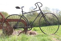 Bikes / 1893 Solid-Tyre Safety Bicycle (Reproduction) with Left-hand Chain
