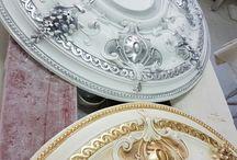 rosone argento e oro foglia