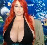 Samantha Anderson / bra: 85 G (38 G) Natural / *1969